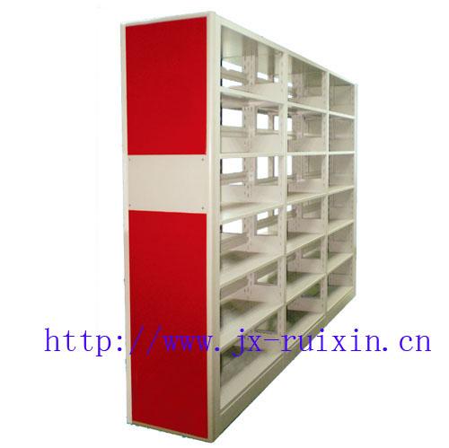 RX-ST04三柱双面屏风式书架