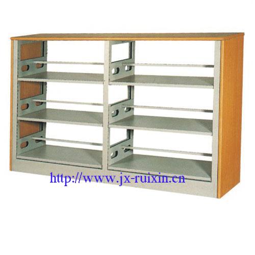RX-SG01 钢木双面书架