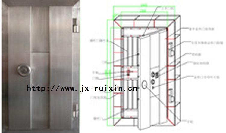RX-AJ03不锈钢金库门
