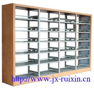 RX-SG04 钢木双面书架