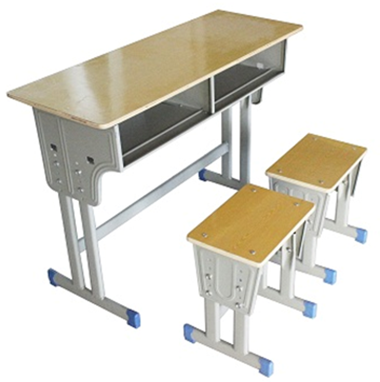 RX-KZ04双人课桌椅